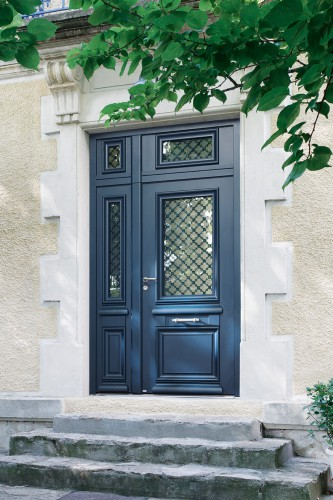 votre porte d 39 entr e aluminium style classique tanguy. Black Bedroom Furniture Sets. Home Design Ideas